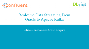 Real-time Data Streaming from Oracle to Apache Kafka - 1:06:52