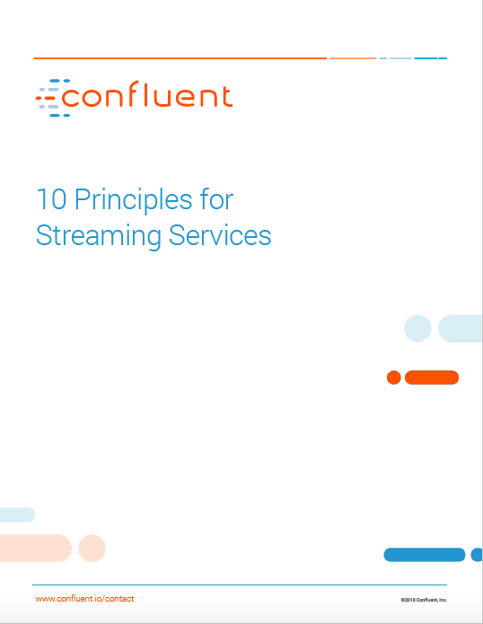 10 Principles for Streaming Services