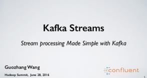 Kafka Streams - Stream processing Made Simple with Kafka