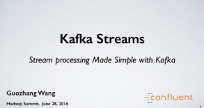 Kafka Streams - Stream processing Made Simple with Kafka