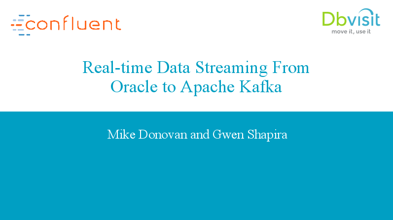 Real-time data Streaming from Oracle to Apache Kafka
