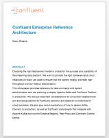Confluent Enterprise Reference Architecture