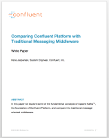 Comparing Confluent Platform with Traditional Messaging Middleware