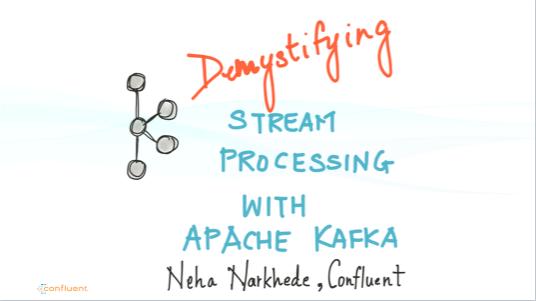Online Talk: Demystifying Stream Processing with Apache Kafka