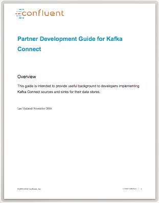 Partner Development Guide for Kafka Connect