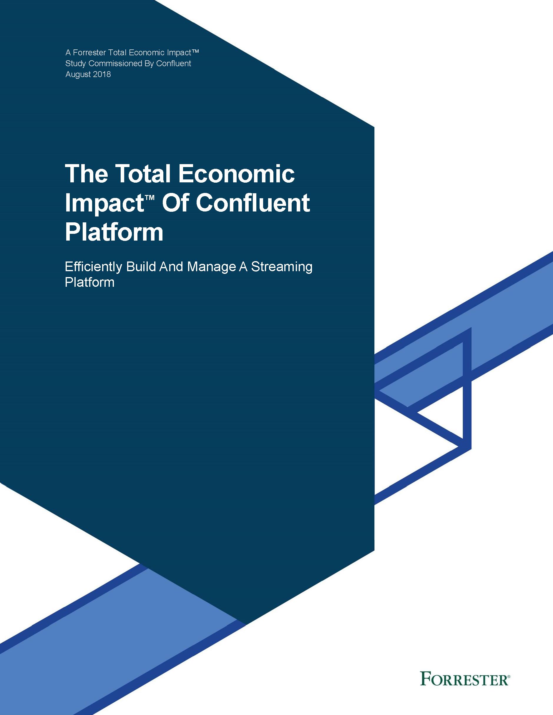 The Total Economic Impact of Confluent Platform