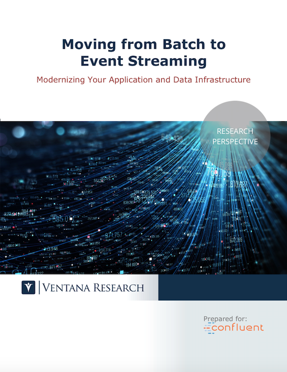 Moving from Batch to Event Streaming
