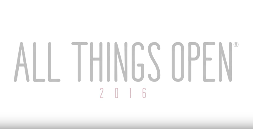 The Rise of Real-Time (All Things Open 2016 Keynote)