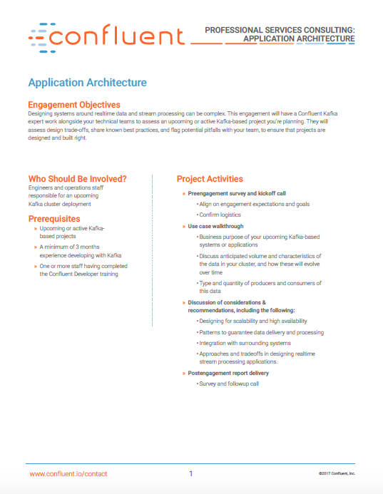 Professional Services: Application Architecture
