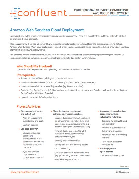 Amazon Web Services Cloud Deployment