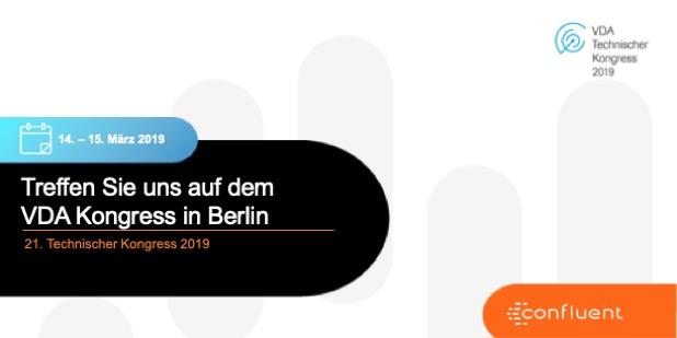 Treffen Sie uns auf dem <br />VDA Kongress in Berlin